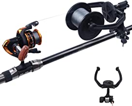 SILANON Line Spooler Fishing Line Spooling- Portable and Stable Fishing Reel Line Winder Baitcaster Machine Spooling Station System