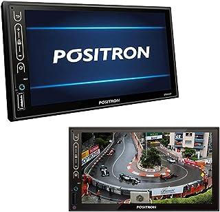 """Central Multimídia Pósitron SP8840DT 7"""" TV Espelhamento USB"""