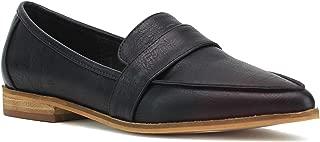 Beast Fashion Logan-02 Women Pointy Toe Slip On Loafer Flat