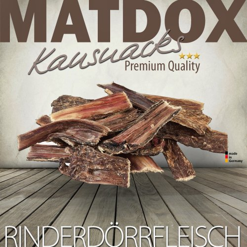 Matdox Rinderdörrfleisch 1000g Beutel - Made in Germany -