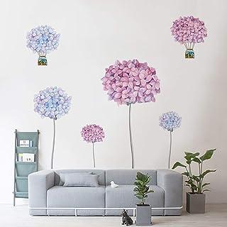 Runtoo Pegatinas de Pared Flores Stickers Adhesivos Vinilo Diente de León Decorativas Salon Dormitorio Habitacion Bebe
