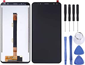Yh Screen Replacement Kit LCD Screen and Digitizer Full Assembly for Ulefone Power 3(Black) styx2019 (Color : Black)