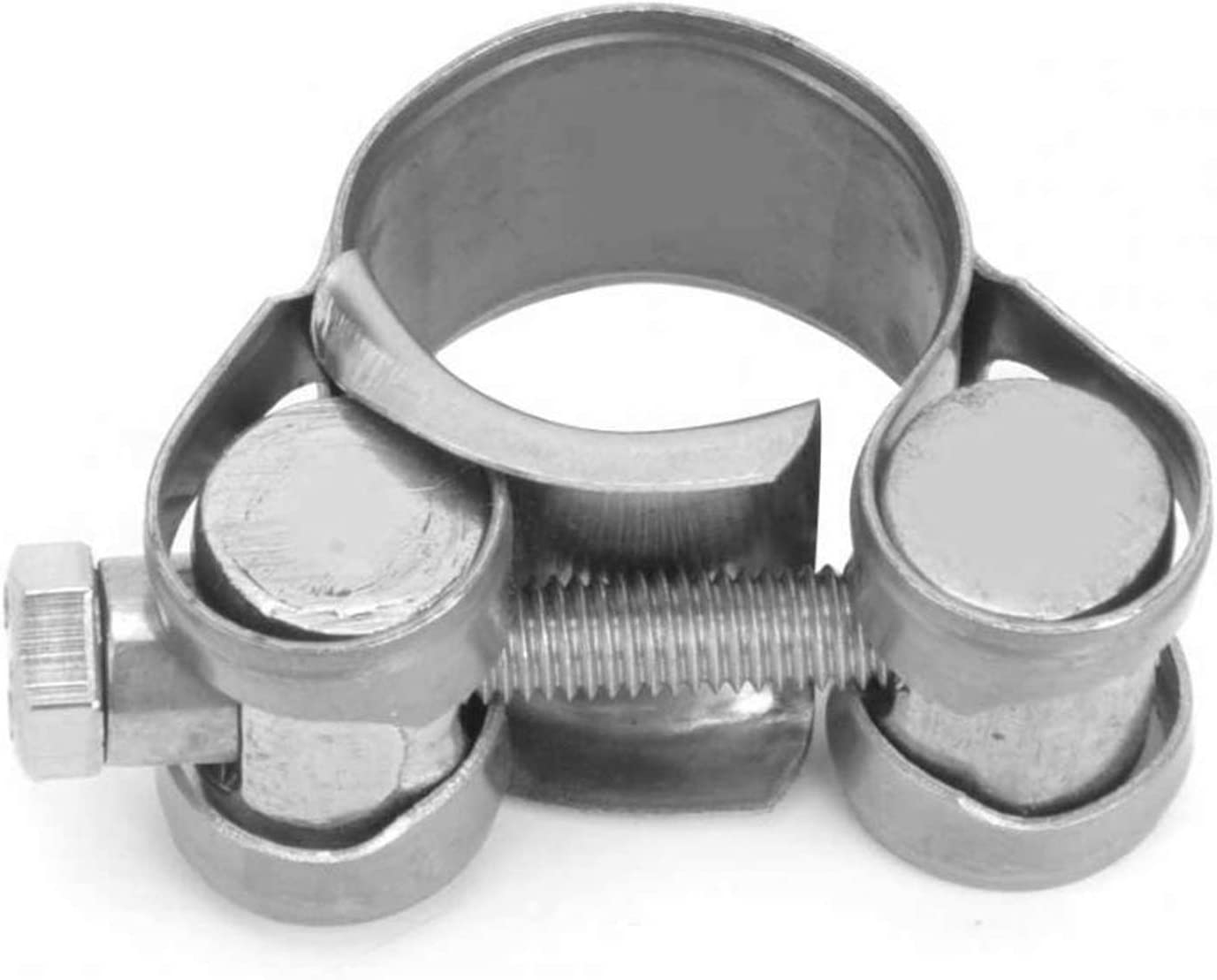 Cheap bargain 5pcs Ultra Thin Stainless Branded goods Steel Clamp T-Bolt Support Clip 1 Ring