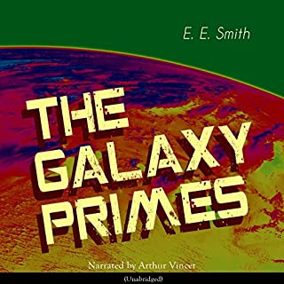The Galaxy Primes audiobook cover art