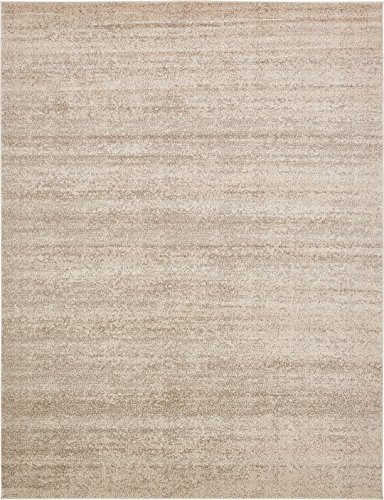 Over-Dyed Modern Vintage Rugs Beige 10' x 13' FT Palma Collection Area Rug - Perfect for Any Place