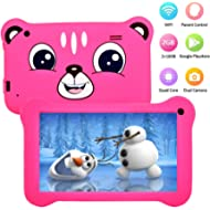 Tablet for Kids, Android 9.0 Kids Tablet 2GB +16 GB Learning Tablet with 7 inch IPS Eye...