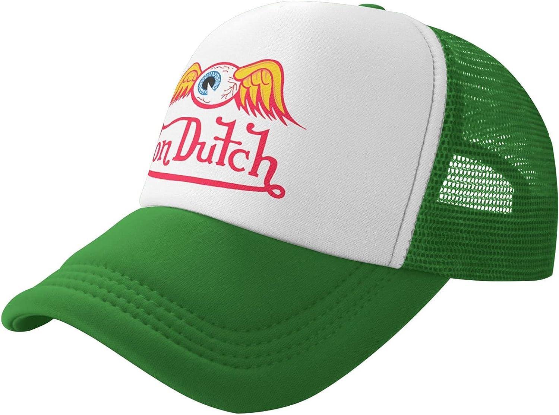 Ali Yee Von Dutch Hat Mesh Baseball Cap Unisex Adjustable Dad Hat Trucker Hat Celebrities Choose Cute Hats Fitted Hat
