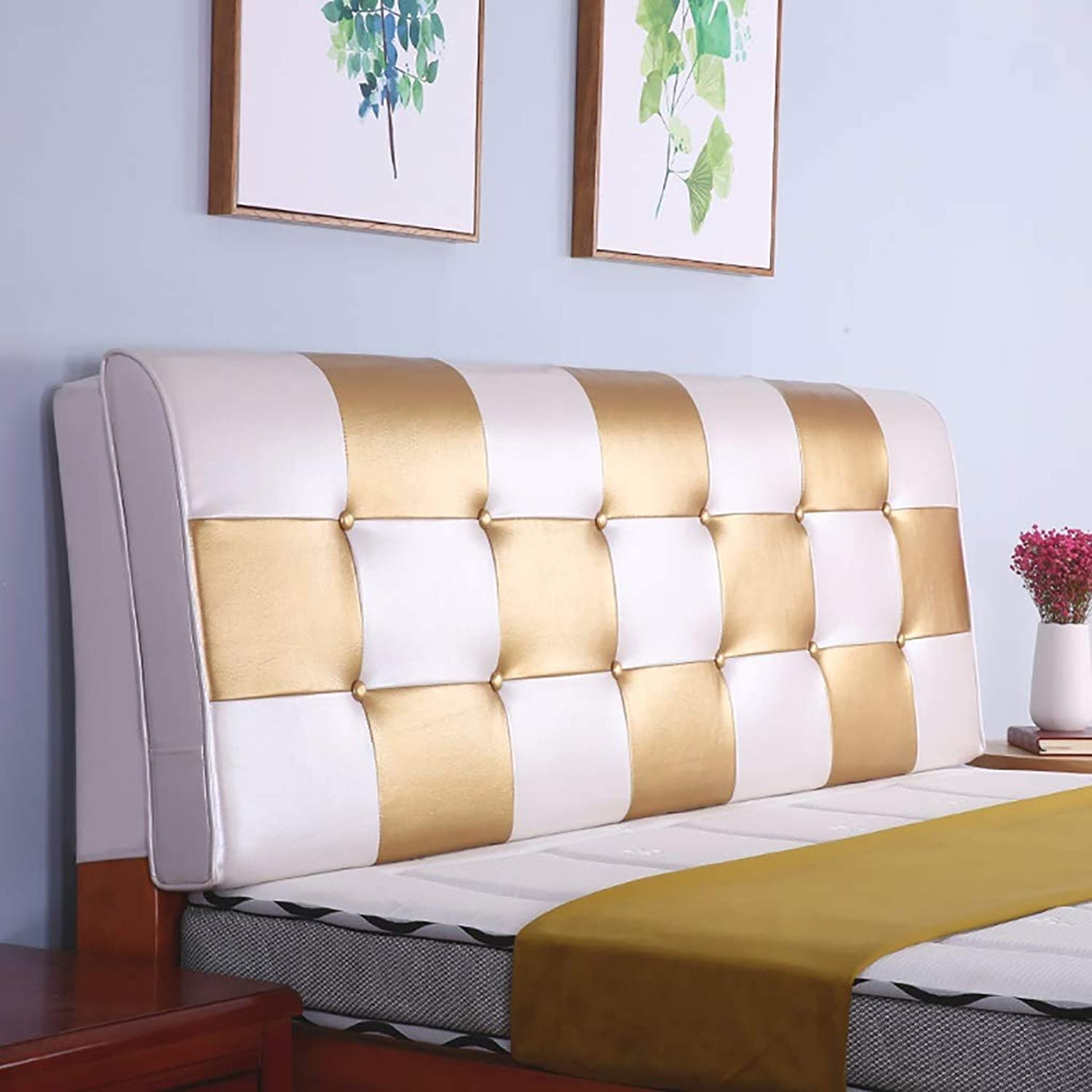 Reading Pillow Back Support Pillow Bedside Cushion Double Tatami Soft Bag Large Back Cushion Cover Set Bed backrest Pillow Removable and Washable Predect The Waist (90  58CM, 120  58CM)