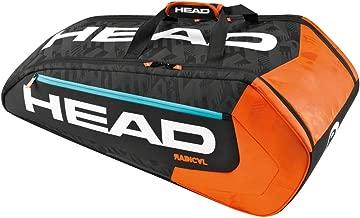 Head 2016 Radical 9R Supercombi Tennis Bag (Black/Orange)