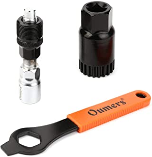Oumers Fahrrad Kurbel Extraktor Tret Lager Entferner mit 16mm Schlüssel,Fahrrad Kurbel entfernen Werkzeug Kurbelabzieher T...