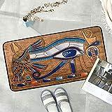 Naanle Egypt - Alfombra de cocina antifatiga para suelo de cocina (39 x 50 cm)