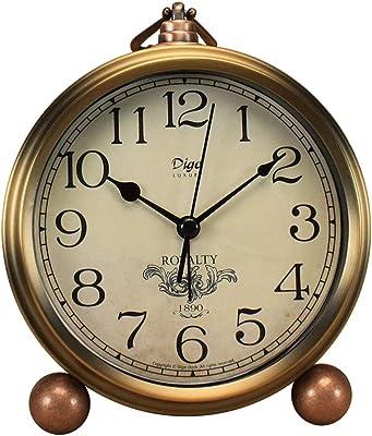 Yxx max *Reloj de Mesa Reloj de Escritorio Sala de Estar ...
