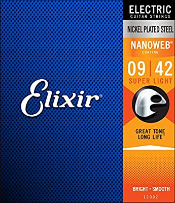 Elixir Strings Electric Guitar w NANOWEB Instrument parts and accessories