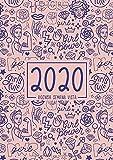 Agenda semana vista 2020: Del 1 de enero de 2020 al 31 de diciembre de 2020: Diario, organizador y planificador con vista semanal y mensual español: Feminista y poder femenino 951-5