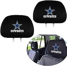 99 Carpro Dallas Cowboys Headrest Covers, Car Truck SUV Van Headrest Covers for American NFL Dallas Cowboys - Set of 2