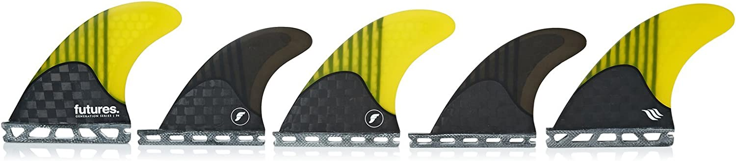 Futures Unisex V2 F4 Generation Series 5 Fin Set