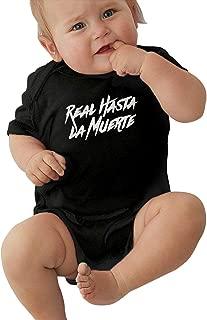 Baby Real Hasta La Muerte Baby Jersey Bodysuit