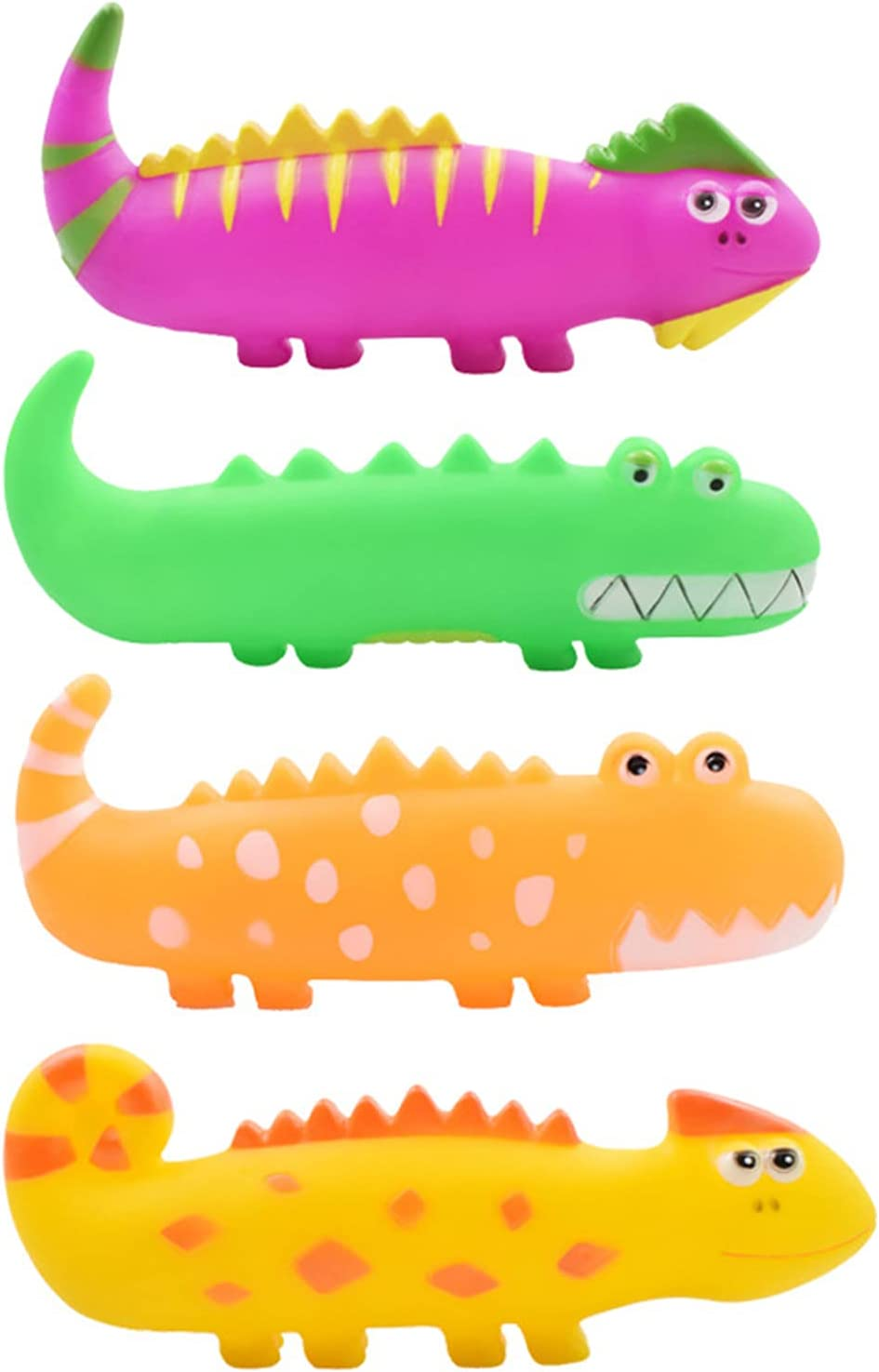 T'chaque 4 PCS Same day shipping Cartoon Dog Squeaky Bargain T Puppies Soft Toys Set Chew