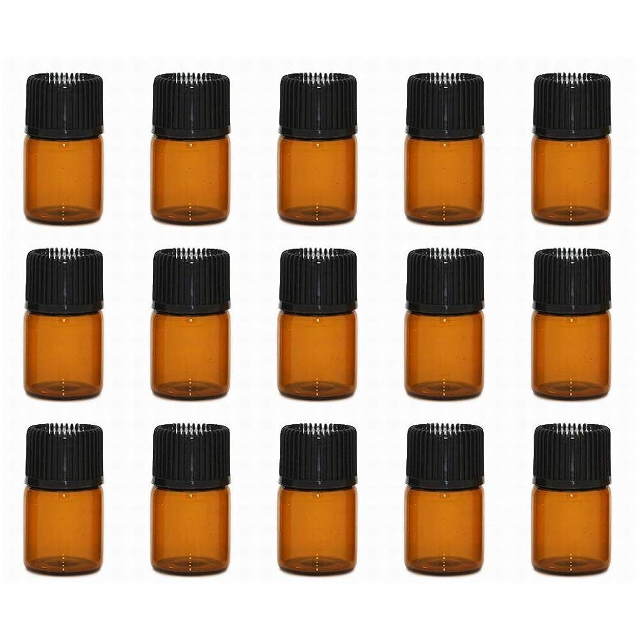 可能性コンペビリーアロマオイル 精油 小分け用 遮光瓶 セット (1ml 20本 セット)
