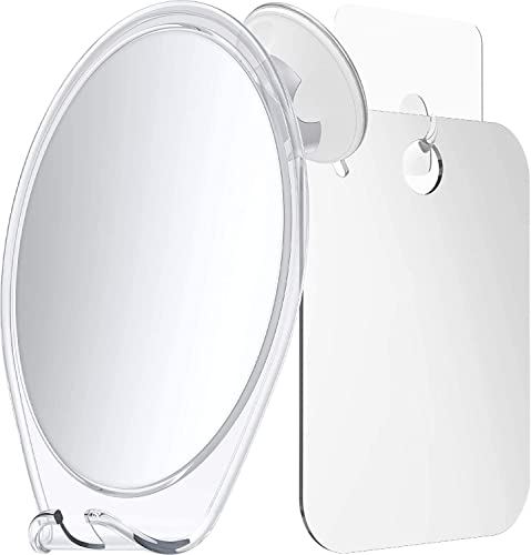 new arrival HoneyBull Shower Mirror Kit | Suction Cup & Hook wholesale Sticker online (Medium) online