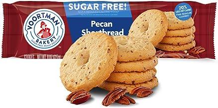 Voortman Bakery Sugar Free Pecan Shortbread Cookies, 8 oz., Pack of 4 – Cookies Baked with Real Pecans, No Artificial Colo...