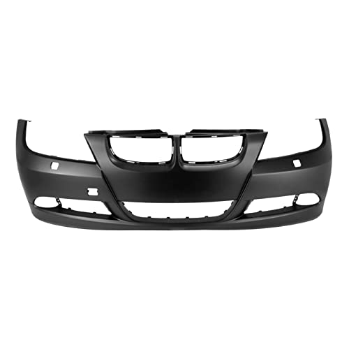 500 08 Primed Front Bumper Tow Hook Cover
