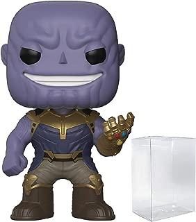 Marvel: Avengers Infinity War - Thanos with Infinity Gauntlet Funko Pop! Vinyl Figure (Includes Compatible Pop Box Protector Case)