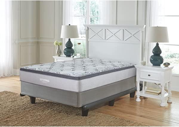 签名设计由 Ashley M89921 奥古斯塔床床垫传统全白