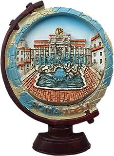 Fontana di Trevi Rome Italy Fridge Magnet City Travel Souvenir Collection 3D Resin Handmade Craft Gift Sticker