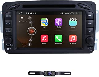 hizpo Android 9.0 Car Stereo DVD Player 7 Inch Dash Autoradio 2 Din Head Unit RAM 2G GPS Navigation DVD Player for Mercedes-Benz C-W209/ C-W203/ Viano/Vito/Vaneo/A-W168