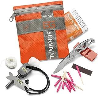 Bear Grylls Basic Survival Kit, 8 Piece, Clam