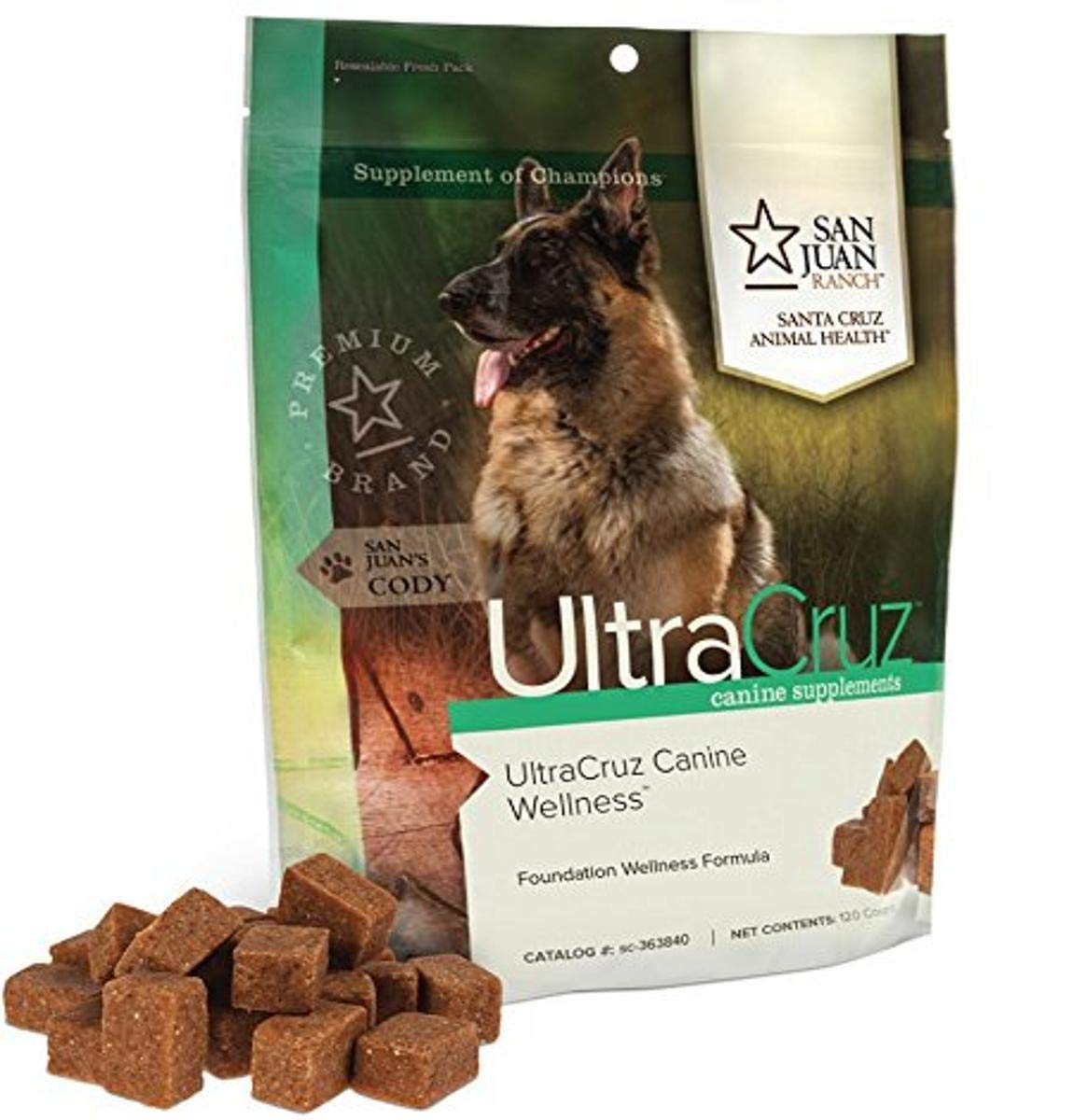 UltraCruz Canine Wellness Supplement for Tasty Dogs Chews 120 Very Manufacturer regenerated product popular