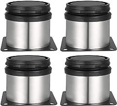 Drenky 4 Pieds Réglables 50 mm De Hauteur Épaissir les pieds d'armoire Pieds de table Pieds de meubles, Acier inoxydable b...