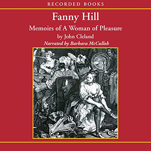 Fanny Hill audiobook cover art