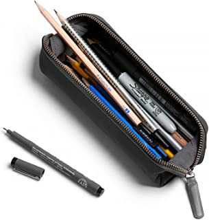 Bellroy Pencil Case, Work Accessories, Leather Fabric (pens, Cables, Stationery and Personal Items) - Charcoal