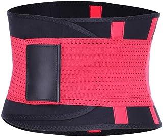 Sweat Waist Trainer Body Shape Shaper Xtreme Power Modeling Belt Faja Girdle Tummy Slimming Fitness Corset Shapewear JFYCU...