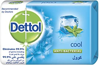 Dettol Instant Cool Antibacterial Bathing Soap Bar With Menthol And Eucalyptus, 70 gm