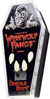 Thermoplastic Custom Werewolf Fangs
