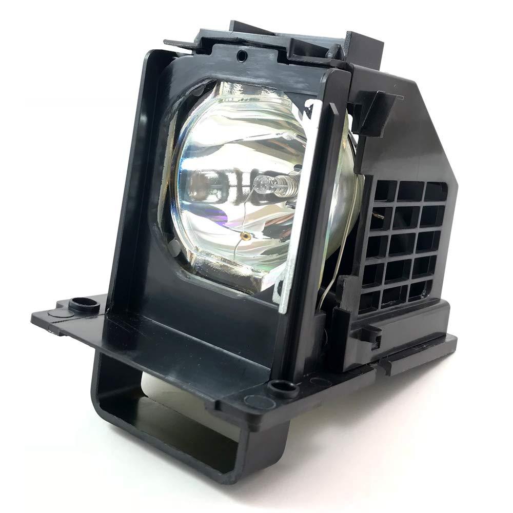 Aurabeam - Jaula de montaje para televisor Mitsubishi WD65738 con bombilla de proyector: Amazon.es: Electrónica
