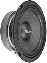 $34 » TIMPANO TPT-MD6 6″ Midrange Speaker Pro Audio - 6 inch Mid Range Loudspeaker for Car Audio - 8 Ohms, 150 Watts RMS Power, ...