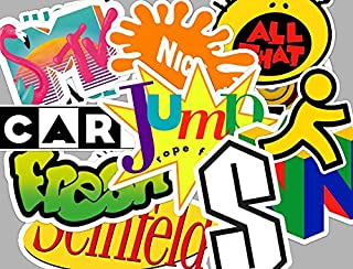 90's Sticker Set 90s stickers **Water Proof Stickers** Active