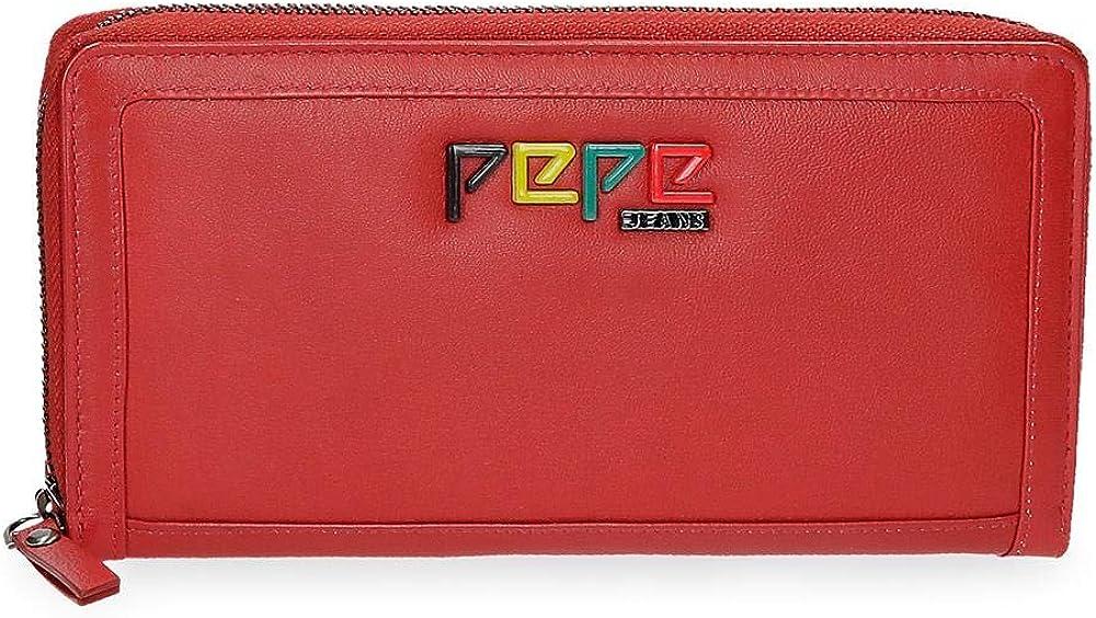 Pepe jeans portafoglio portaca carte di credito da donna in pelle 7693162