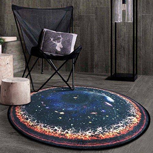 Good thing tapis Tapis rond Carpet Star Round Rug, coussins pour enfants chambre tapis d'ordinateur tapis de sol salon chambre panier rond tapis (taille : Diameter 150CM)