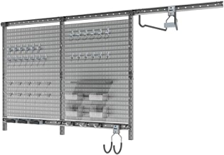 Allspace 63 Piece Peg Board Wall Organization System Utility Panels