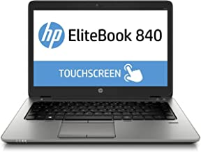 HP EliteBook 840 G2 14in FHD Touchscreen Business Laptop Computer, Intel i5-5300U, 16GB RAM, 1TB HDD, USB 3.0, Backlit Keyboard, Fingerprint Reader, Webcam, Windows 10 Pro (Renewed)
