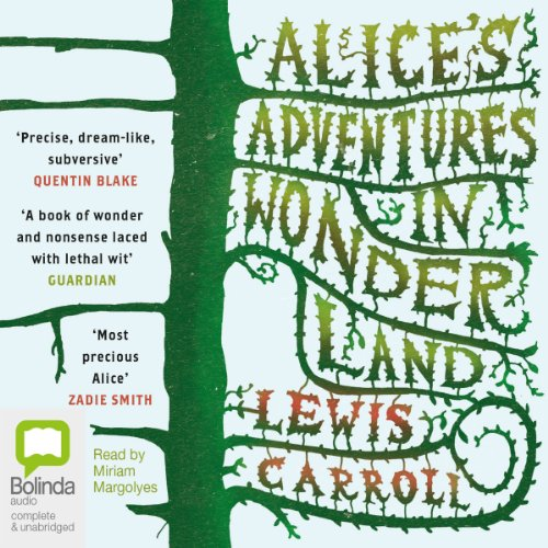 Alice's Adventures in Wonderland audiobook cover art