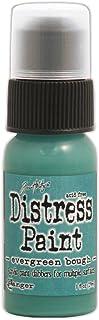 Ranger Tim Holtz Distress Paint, 1-Ounce Bottle, Evergreen Bough