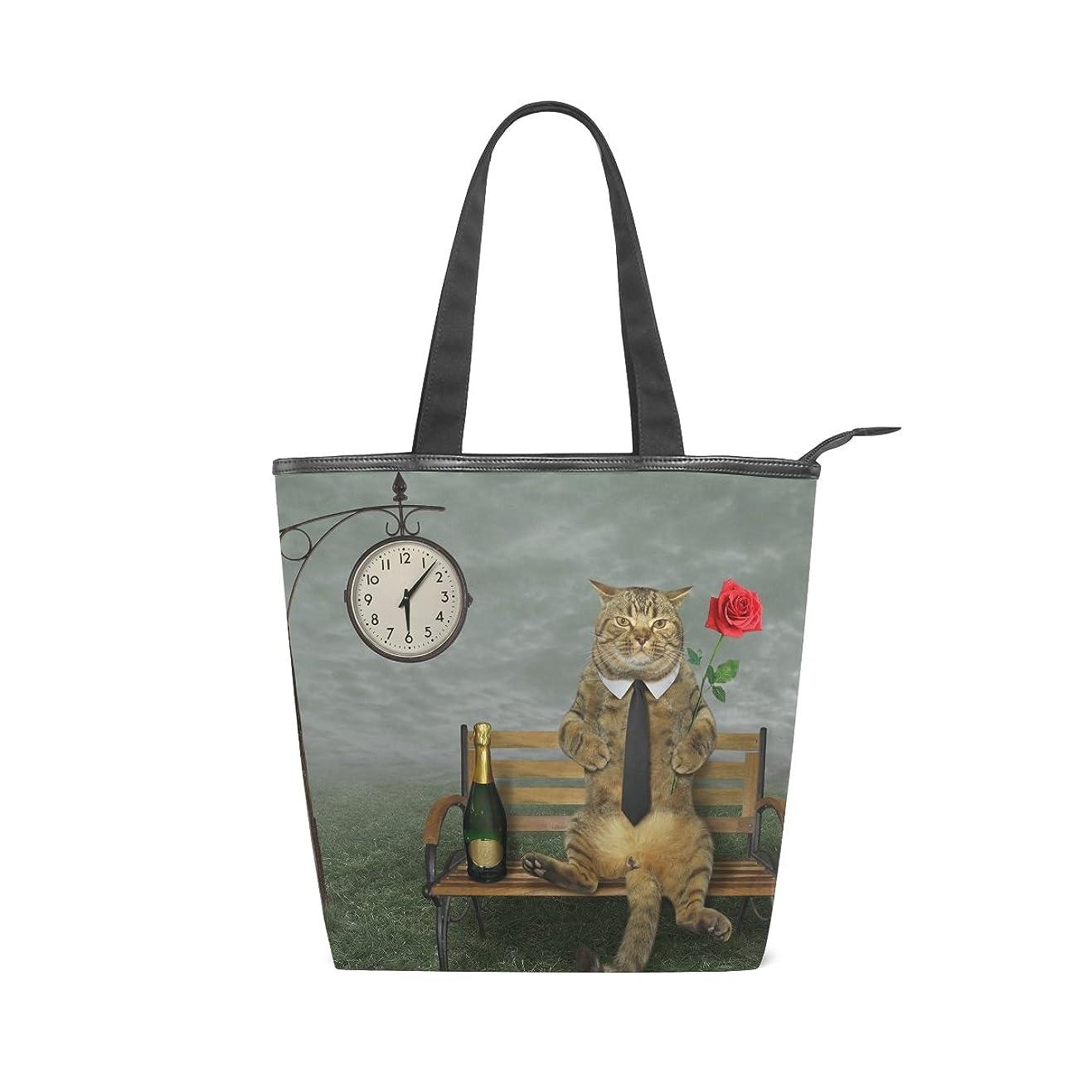 デザイナーゲスト交換キャンバス バッグ トートバッグ 多機能 多用途2way猫柄 ネコ キャット ショルダー バッグ ハンドバッグ レディース 人気 可愛い 帆布 カジュアル 多機能 両用トートバッグ ァスナー付き ポケット付 Natax