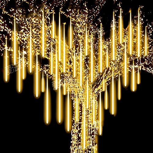 Roytong Waterproof Cascading LED Meteor Shower Rain Lights...