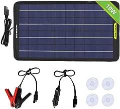 Best 12 volt battery solar panel charger Reviews